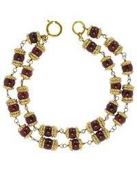 Chanel - Multicolor Pre-owned Necklace - Lyst