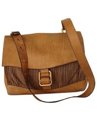 Delvaux - Brown Pre-owned Other Leather Handbag - Lyst