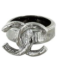 Chanel - Metallic Pre-owned Ring - Lyst