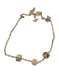 Louis Vuitton - Metallic Pre-owned Necklace - Lyst
