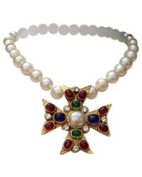 Chanel - Multicolor Necklace - Lyst