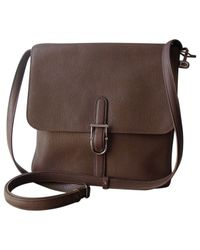 Delvaux - Brown Other Leather Handbag - Lyst