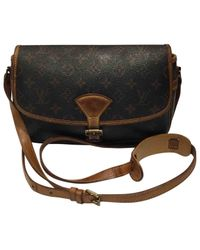 Louis Vuitton - Brown Pre-owned Sologne Cloth Crossbody Bag - Lyst