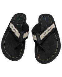 2cf93cc5b9e0 Lyst - Louis Vuitton Sandals in Black for Men