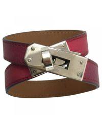 Hermès | Multicolor Pre-owned Kelly Double Tour Leather Bracelet | Lyst