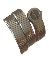 BVLGARI - Metallic Watch - Lyst