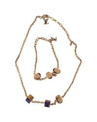 Louis Vuitton | Metallic Pre-owned Jewelry Set | Lyst