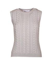 Dior - Gray Wool Vest - Lyst