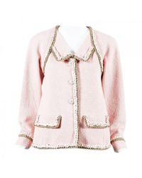 Chanel - Pink Jacket - Lyst