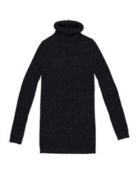 Chanel - Blue Wool Jumper - Lyst
