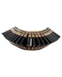 Louis Vuitton - Black Crystal Bracelet - Lyst