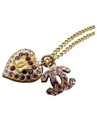 Chanel | Multicolor Pre-owned Necklace | Lyst