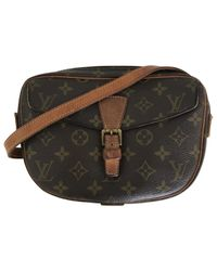 Louis Vuitton Pre-owned Vintage Brown Cloth Handbags