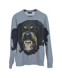 Givenchy - Gray Pre-owned Grey Cotton Knitwear & Sweatshirt for Men - Lyst