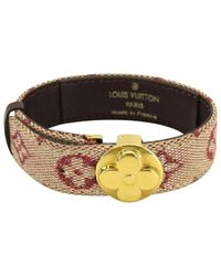 Louis Vuitton - Metallic Pre-owned Monogram Bracelet - Lyst