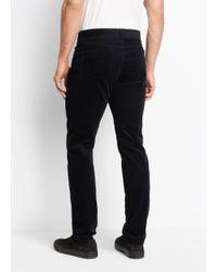 Vince | Blue 5 Pocket Stretch Corduroy for Men | Lyst