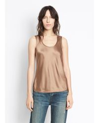 Vince - Natural Bias Tank - Lyst
