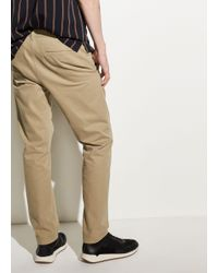 Vince - Natural Griffith Cotton Chino for Men - Lyst