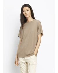 Vince | Multicolor Short Sleeve Cocoon Tee | Lyst