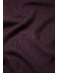 Vince - Black Wool And Cashmere Scarf - Lyst