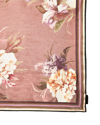 Vince Camuto - Pink Dreamscape Floral-print Scarf - Lyst