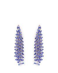 Vince Camuto - Multicolor Silvertone Waterfall Earrings - Lyst