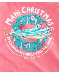 Vineyard Vines - Multicolor Long-sleeve Mahi Christmas Pocket T-shirt for Men - Lyst