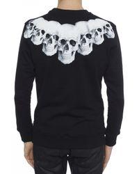 Philipp Plein - Black Skulls Motif Sweatshirt for Men - Lyst