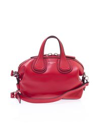 Givenchy - Red 'nightingale' Shoulder Bag - Lyst