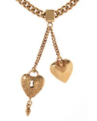 Chloé - Metallic 'collected Hearts' Bracelet - Lyst