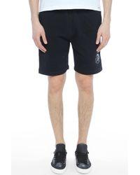 DIESEL - Pan Shorts Black for Men - Lyst
