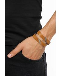 DIESEL - Multicolor Double Bracelet for Men - Lyst