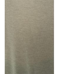 AllSaints - Gray 'malin' V-neck T-shirt - Lyst