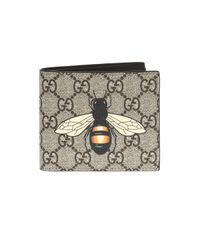 Gucci - Multicolor Wallet With Bee Motif for Men - Lyst