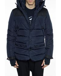 5fb7c4b4811b3 Lyst - Moncler Grenoble Quilted Down Jacket in Blue for Men