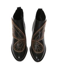 Sophia Webster - Black 'karina Butterfly' Heeled Ankle Boots - Lyst