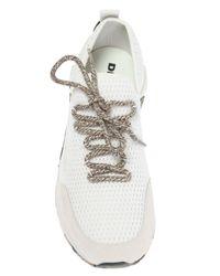 DIESEL - White 's-kby' Sneakers for Men - Lyst
