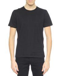John Varvatos - Black Crewneck T-shirt for Men - Lyst