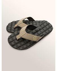 Volcom - Multicolor Recliner Sandals - Blue Combo - 12 for Men - Lyst