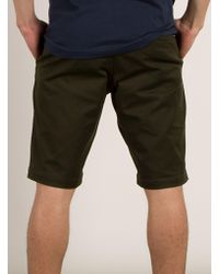 Volcom - Green Frickin Mod Stretch Shorts for Men - Lyst