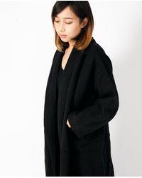 Lauren Manoogian - Taper Coat / Black - Lyst