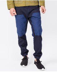 Scotch & Soda - Blue Rigger Jogging Chino / Navy for Men - Lyst