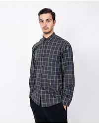 Assembly - Metallic Standard Shirt / Plaid for Men - Lyst