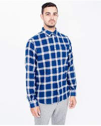 Norse Projects | Anton Gauze Shirt / Blue for Men | Lyst