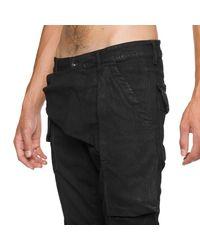 Rick Owens Drkshdw - Black Memphis Denim Trousers for Men - Lyst