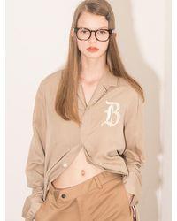 BEYOND CLOSET - Multicolor [unisex] Colette Edition Classic Logo Open Collar Shirts - Lyst