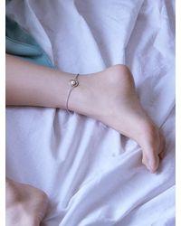 Matias - Metallic Silver Line Bracelet - Lyst