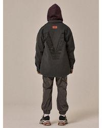 OVERR - Black Gray V Shirts for Men - Lyst