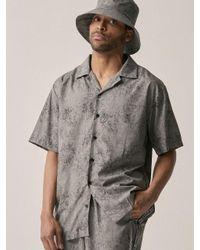 OVERR - [unisex] Water Washing Gray Shirt for Men - Lyst