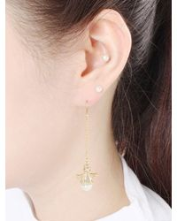 NOONOO FINGERS - Multicolor Twinkle Angels Hook Earring - Lyst